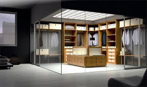 walk in closet design walk in closet design with glass walls by spazzi