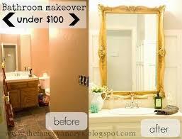 Small Bathroom Makeover Ideas On A Budget - the 25 best budget bathroom makeovers ideas on pinterest budget