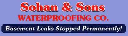 basement waterproofing cincinnati oh sohan u0026 son u0027s waterproofing co