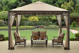 Patio Gazebo Replacement Canopy For Bhg Courts Landing 12x10 Ft Gazebo With