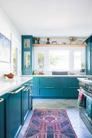light blue cabinets kitchen 25 beautiful and inspiring blue kitchens shelterness