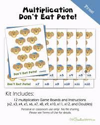 don u0027t eat pete multiplication game onecreativemommy com