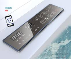 bluetooth thermostat 2017 new arrival smart bathroom wifi bluetooth functions thermostat