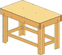 how to build a workbench easy diy plans
