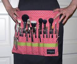 diy makeup artist brush belt by asoftblackstar via flickr