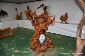 geoje land beautiful wood sculptures sweet