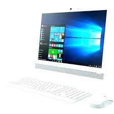 carrefour informatique pc bureau pc bureau promo ordinateur de lenovo all in one ideacentre aio