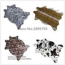 Leopard Cowhide Rug Leopard Skin Rug Promotion Shop For Promotional Leopard Skin Rug