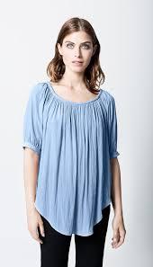 periwinkle blouse smythe gypset top in crimson shopsmythe