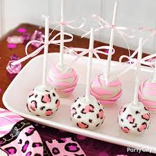 Cake Pop Decorations For Baby Shower Baby Shower Jungle Theme Cake Pops Idea Party City