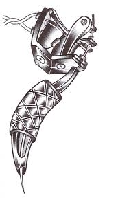 tattoo gun clipart 1981761