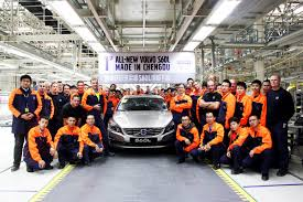 volvo group volvo car group starts series production of the volvo s60l at
