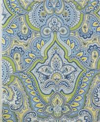 Paisley Shower Curtain Blue by Amazon Com Laura Ashley Maiden Lane Blue Green Yellow U0026 White