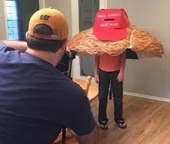 Donald Trump Halloween Costume Scariest Halloween Costume Ever Donald Trump U0027s Hair Huffpost