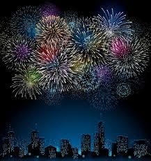 set of holiday fireworks design vector 26 u2013 over millions vectors