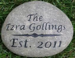 pet memorial garden stones engraved address marker garden address 7 8 inch or oathing