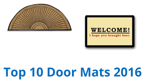 Don Aslett Doormat 10 Best Door Mats 2016 Youtube