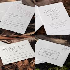 Invitations With Response Cards Response Cards For Your Wedding Invitations An Explanation Of