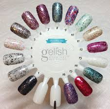 gelish trends life of the party swatch u0026 collection overview