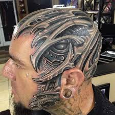 49 insanily cool head tattoos designbump