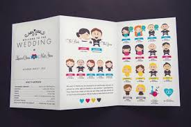 Booklet Wedding Programs Creative Wedding Programs And What To Include Weddbook