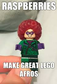 Funny Lego Memes - raspberry lego afros funny pics memes captioned pictures