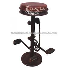 bike pedal bar stool buy used bar stools retro bar stool vintage