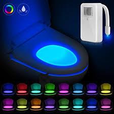 nexlux led light strip toilet night light nexlux 150 degrees sensing motion sensor toilet