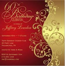 60 birthday celebration 60th birthday invitation template 19 free psd vector eps ai