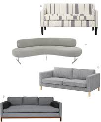 Pennie Sofa Modern Gray Sofas Archives Stylecarrot