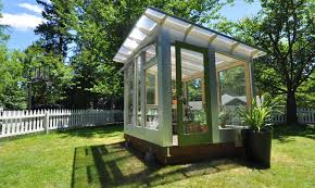 Backyard Greenhouse Diy Studio Sprout U0027s Backyard Greenhouse Combines Beautiful Form With