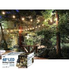 color changing solar string lights costco led string lights outdoor lighting wonderful solar l post