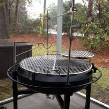 Grill For Fire Pit by Rivergrille Cowboy 31 In Charcoal Grill And Fire Pit Gr1038