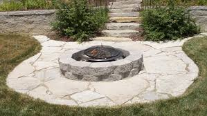Paver Patio Designs With Fire Pit Backyard Stone Patio Designs Flagstone Patio Benefits Cost Amp