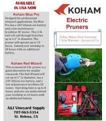 Pruning Supplies A U0026j Vineyard Supply Inc