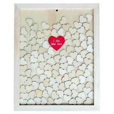 wedding guest book picture frame drop top wooden frame alternative wedding guest book