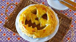 how to make halloween jack o u0027 lantern pumpkin pie recipe