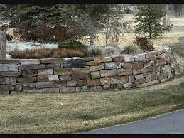 astonishing design stacked stone retaining wall amazing all i want