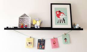 étagères chambre bébé diy faciles pour la déco de chambre bébé le lapin gris