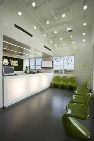 modern dental office interior design including lobby waiting room