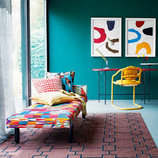 decorating with bright colours to revitalise your home ideal home