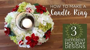 How To Make A Flower Centerpiece Arrangements by Diy Christmas Centerpieces Youtube