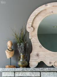 country style mirrors home decor diy french country style mirror upcycled mirror with a diy frame