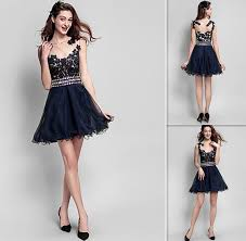 graduation dresses graduation dresses for college black lace and tulle a line