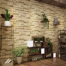 Wohnzimmer Ziegeloptik Markenlose Tapeten Mit 3d Ebay