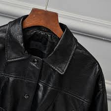 big and tall women front pocket leather jackets 2017 brazilian