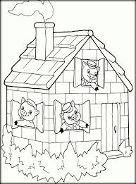 pigs coloring pages color zini