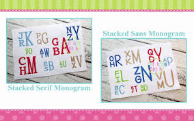 stacked monogram why the stacked monograms from the itch 2 stitch are special