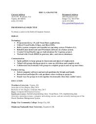 computer science resume computer teacher resume example sample it