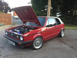 used 1990 volkswagen golf gti mk1 mk2 cabrio gti for sale in kent